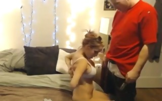 large titty party angel copulates lad from the