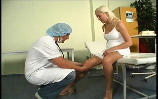 doctor does more than examine patient