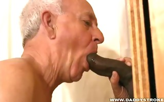 dad engulfing darksome rod