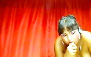 hot latina female-dominator touches part4