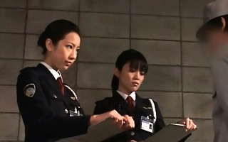 dick starved oriental police chicks giving