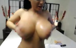 breathtaking biggest titted hooker copulates her