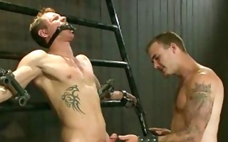 blonde twink got abused and tortured