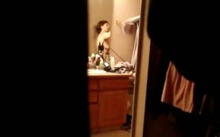 cheater undressed exercising voyeur