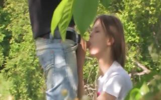 schoolgirls sex in the forest