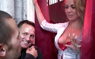 large titted blonde hooker shags with her excited