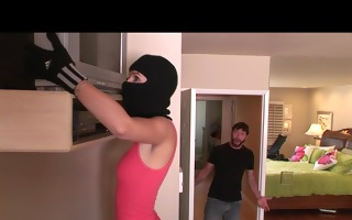 sexy youthful burglar hayden winters is caught